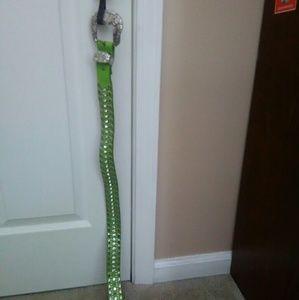 Bling green belt